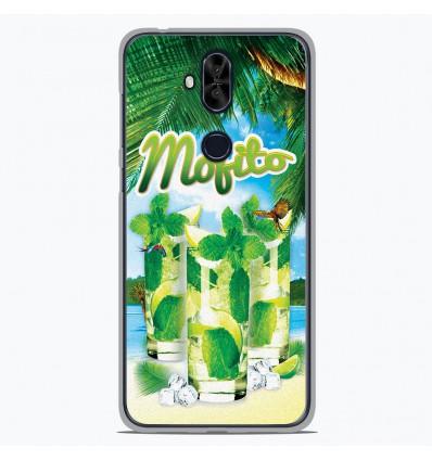 Coque en silicone Asus Zenfone 5 Lite ZC600KL - Mojito Plage