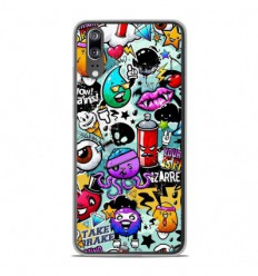 Coque en silicone Huawei P20 - Graffiti 2