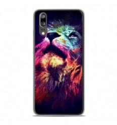 Coque en silicone Huawei P20 - Lion swag