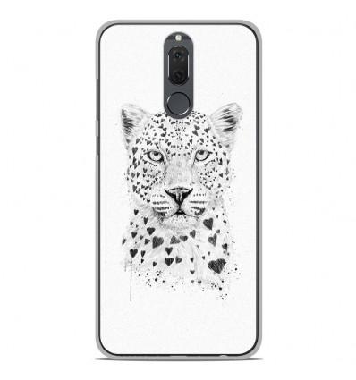 Coque en silicone Huawei Mate 10 Lite - BS Love leopard