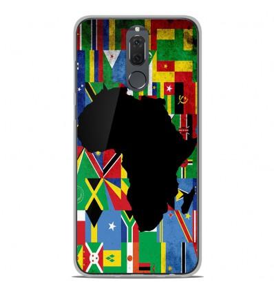 Coque en silicone Huawei Mate 10 Lite - Drapeau Afrique