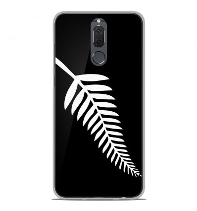 Coque en silicone Huawei Mate 10 Lite - Drapeau All-black