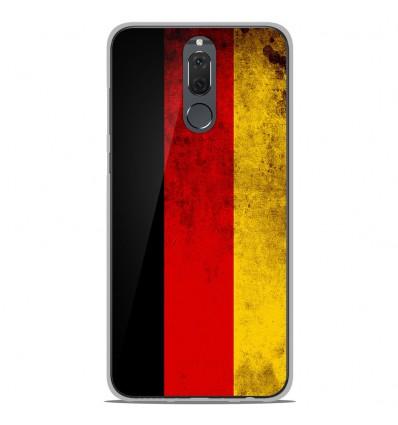 Coque en silicone Huawei Mate 10 Lite - Drapeau Allemagne