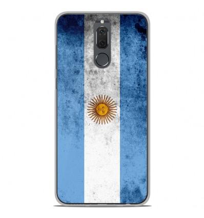 Coque en silicone Huawei Mate 10 Lite - Drapeau Argentine