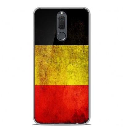 Coque en silicone Huawei Mate 10 Lite - Drapeau Belgique