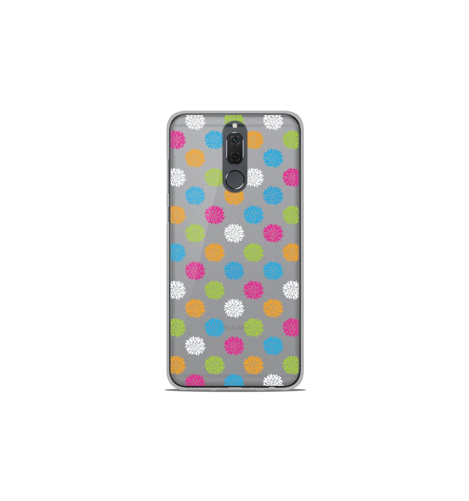Coque en silicone Huawei Mate 10 Lite - Floral