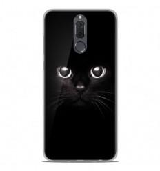 Coque en silicone Huawei Mate 10 Lite - Yeux de chat