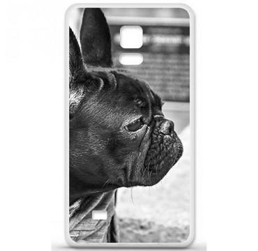 Coque en silicone pour Samsung Galaxy Note 4 - Bulldog