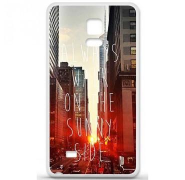 Coque en silicone Samsung Galaxy Note 4 - Sunny side
