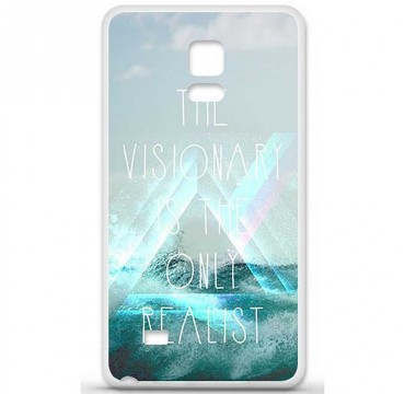 Coque en silicone Samsung Galaxy Note 4 - Visionary