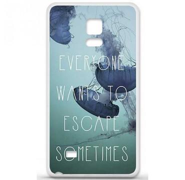 Coque en silicone pour Samsung Galaxy Note 4 - Escape