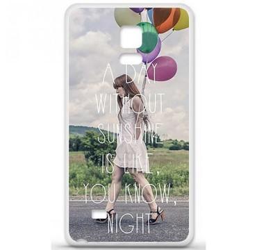 Coque en silicone Samsung Galaxy Note 4 - Woman