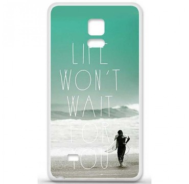 Coque en silicone Samsung Galaxy Note 4 - Surfer