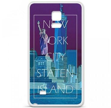 Coque en silicone pour Samsung Galaxy Note 4 - New york