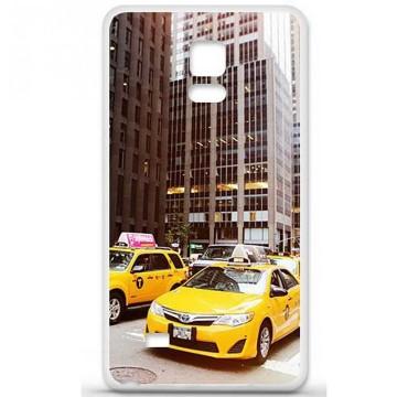 Coque en silicone Samsung Galaxy Note 4 - NY Taxi