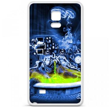 Coque en silicone Samsung Galaxy Note 4 - Fontaine