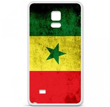 Coque en silicone Samsung Galaxy Note 4 - Drapeau Sénégal