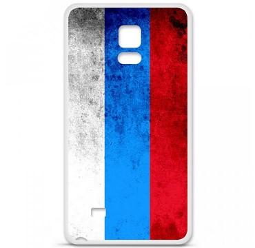Coque en silicone Samsung Galaxy Note 4 - Drapeau Russie