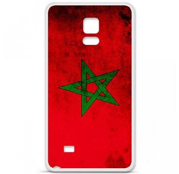 Coque en silicone Samsung Galaxy Note 4 - Drapeau Maroc
