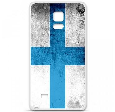 Coque en silicone pour Samsung Galaxy Note 4 - Drapeau Marseille