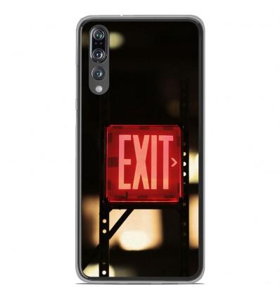 Coque en silicone Huawei P20 Pro - Exit