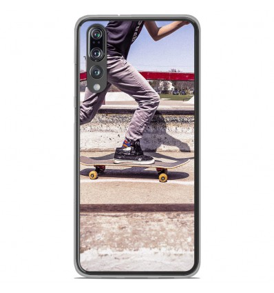 Coque en silicone Huawei P20 Pro - Skate