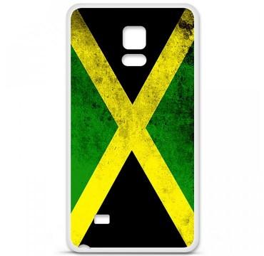 Coque en silicone pour Samsung Galaxy Note 4 - Drapeau Jamaïque
