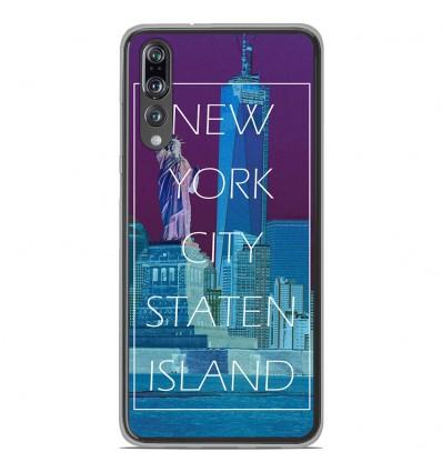 Coque en silicone Huawei P20 Pro - New york