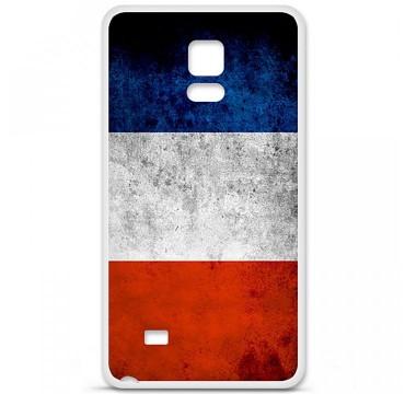 Coque en silicone Samsung Galaxy Note 4 - Drapeau France