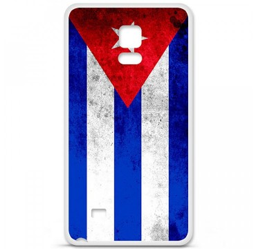 Coque en silicone Samsung Galaxy Note 4 - Drapeau Cuba