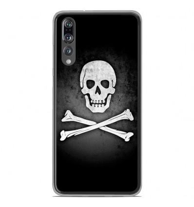 Coque en silicone Huawei P20 Pro - Drapeau Pirate