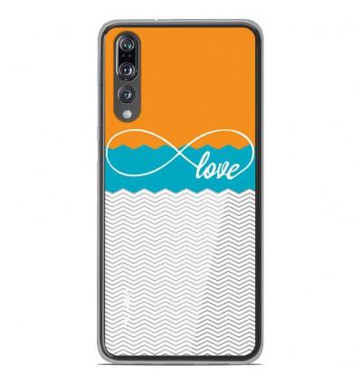 Coque en silicone Huawei P20 Pro - Love Orange