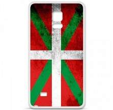 Coque en silicone Samsung Galaxy Note 4 - Drapeau Basque