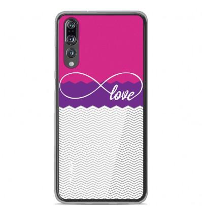 Coque en silicone Huawei P20 Pro - Love Rose