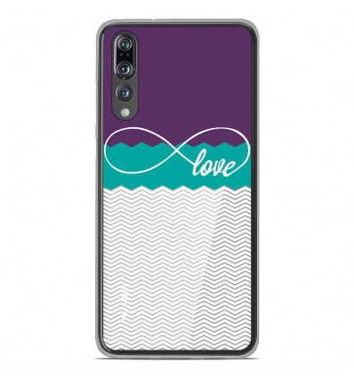 Coque en silicone Huawei P20 Pro - Love Violet