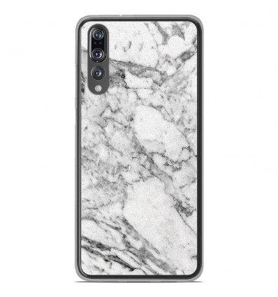Coque en silicone Huawei P20 Pro - Marbre Blanc