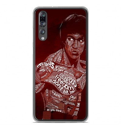 Coque en silicone Huawei P20 Pro - Bruce lee