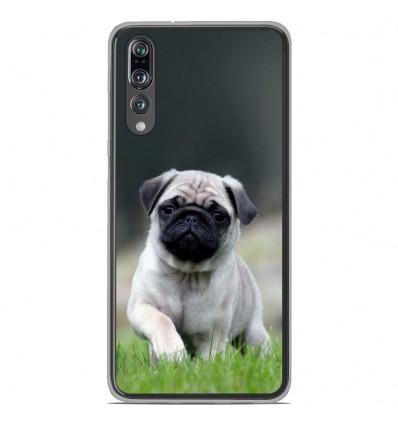 Coque en silicone Huawei P20 Pro - Bulldog français