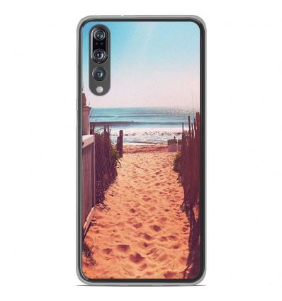 Coque en silicone Huawei P20 Pro - Chemin de plage