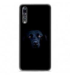 Coque en silicone Huawei P20 Pro - Chien noir