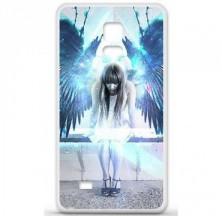 Coque en silicone Samsung Galaxy Note 4 - Angel