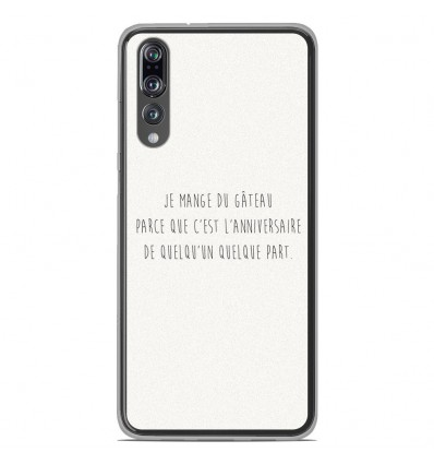 Coque en silicone Huawei P20 Pro - Citation 12