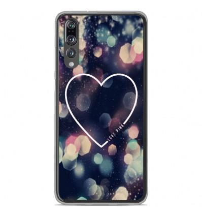 Coque en silicone Huawei P20 Pro - Coeur Love