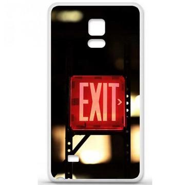 Coque en silicone Samsung Galaxy Note 4 - Exit