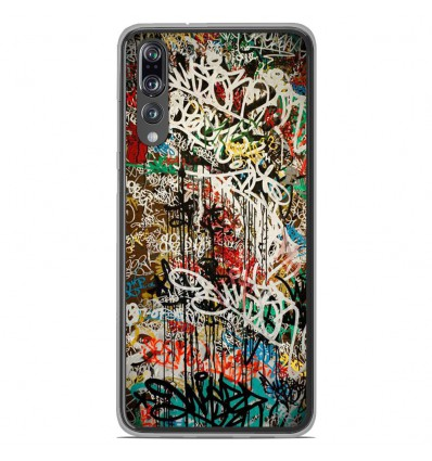 Coque en silicone Huawei P20 Pro - Graffiti 1
