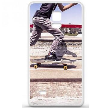 Coque en silicone pour Samsung Galaxy Note 4 - Skate