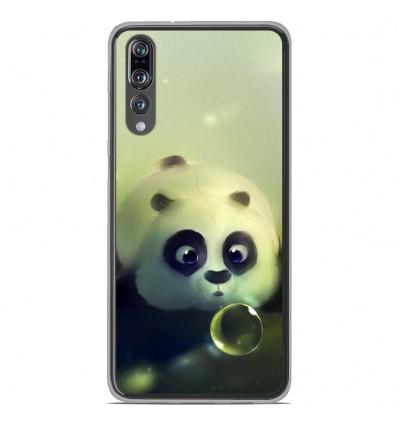 Coque en silicone Huawei P20 Pro - Panda Bubble