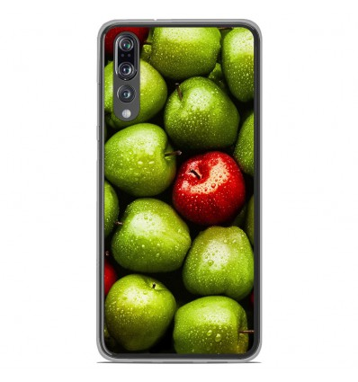 Coque en silicone Huawei P20 Pro - Pommes