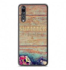 Coque en silicone Huawei P20 Pro - The best summer