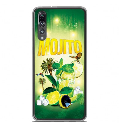 Coque en silicone Huawei P20 Pro - Mojito Forêt